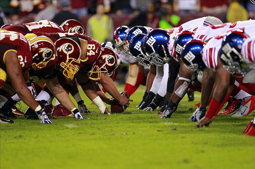 Image result for Giants vs Redskins pic
