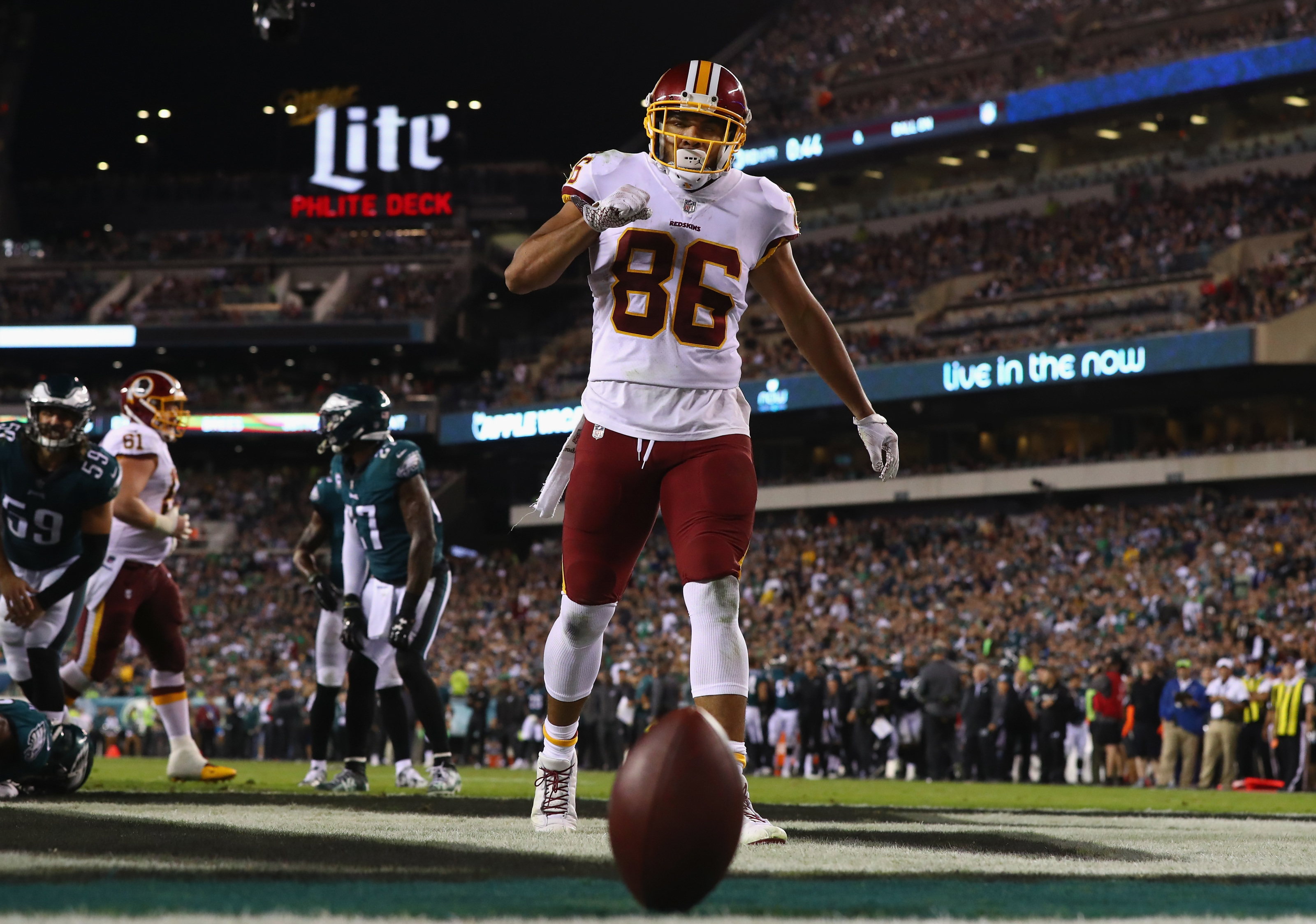 Redskins TE Jordan Reed reportedly clears concussion protocol