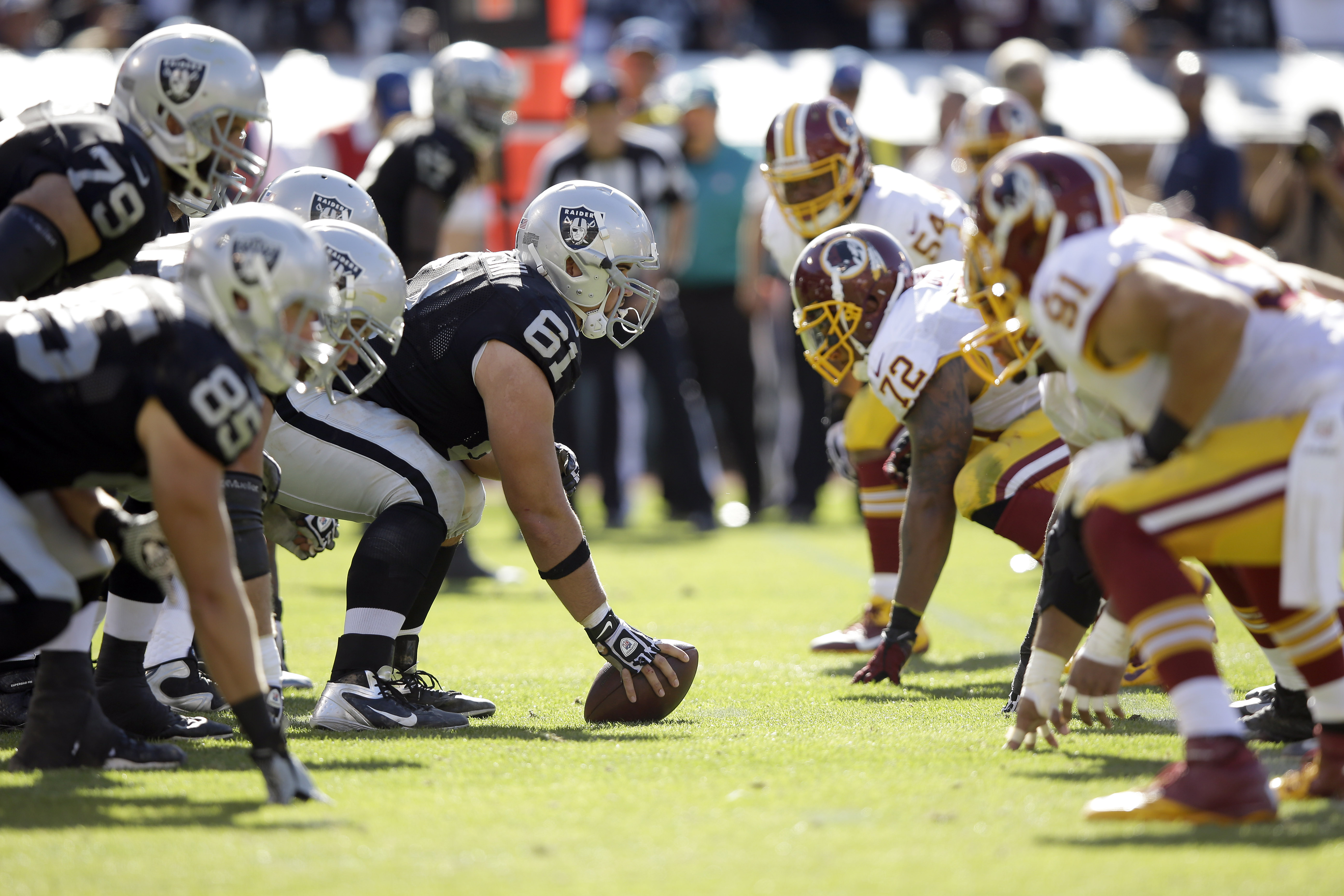 Redskins' Gruden on Raiders offense: 'Nothing they're not doing well'