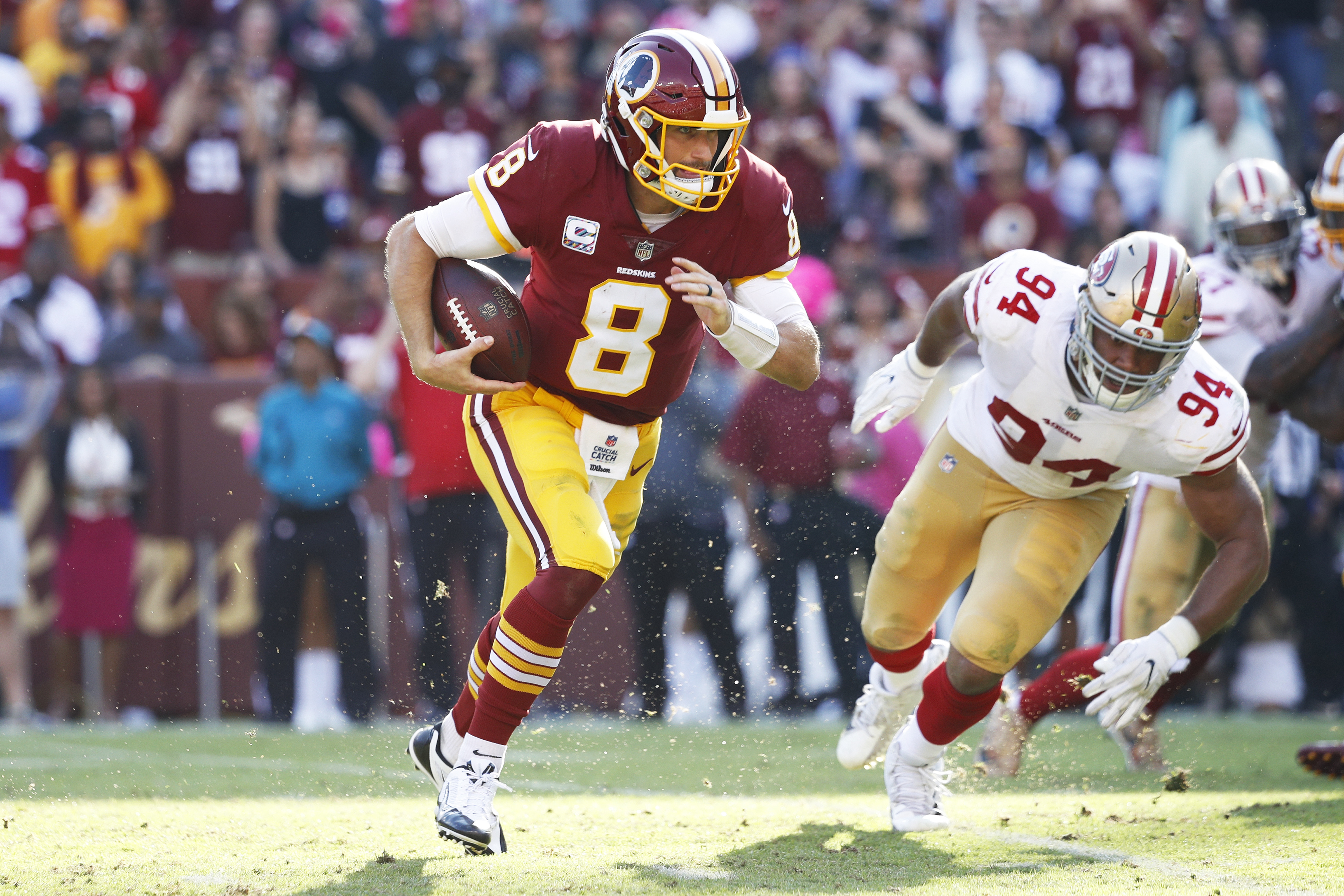 Redskins rule four out for Thanksgiving game vs