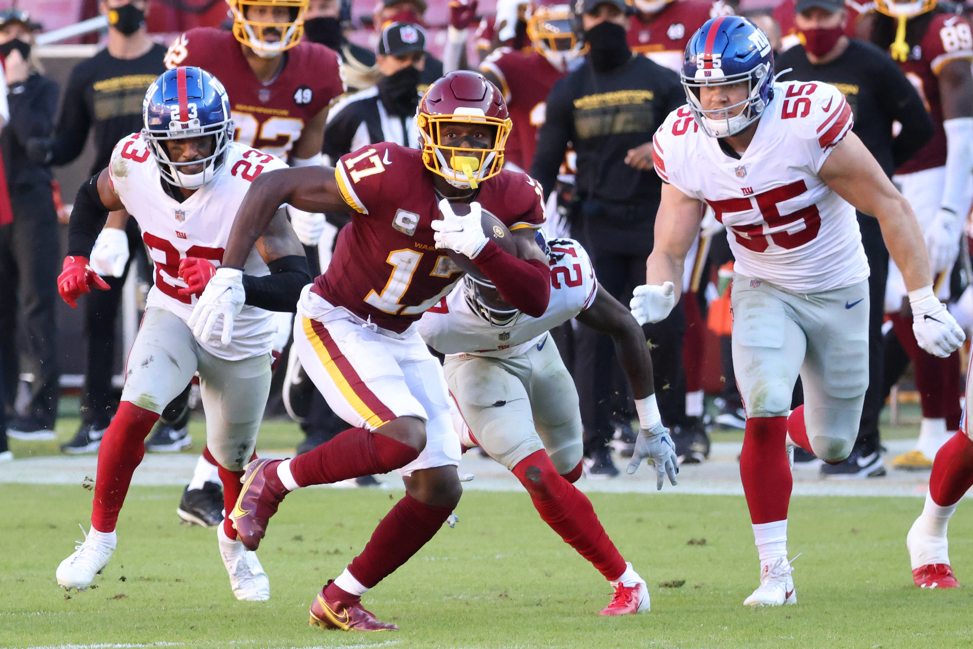 Washington Football Team: Studs and duds from Week 9 loss to Giants - Page 2